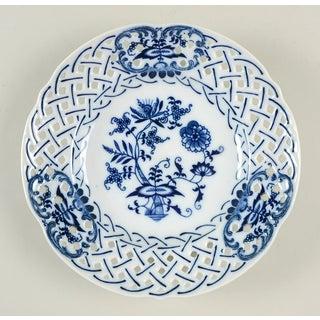 Blue Danube (Japan) Blue Danube Pierced Edge Salad Plate - Set of 6 Preview