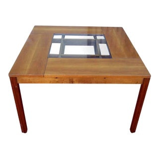 1962 Carlo Scarpa Attributed Game Table For Sale