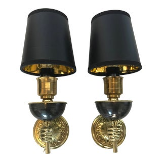 1950s Vintage Andre Arbus Sconces- A Pair For Sale