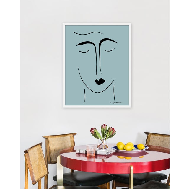 Giclée on textured fine art paper with white frame. Unframed print dimensions: 23.75 x 29.75. Rob Delamater lives and...