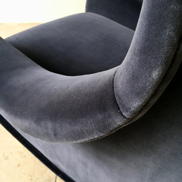 Early Marco Zanuso Designed Senior Armchair Circa 1950 For Sale - Image 6 of 8