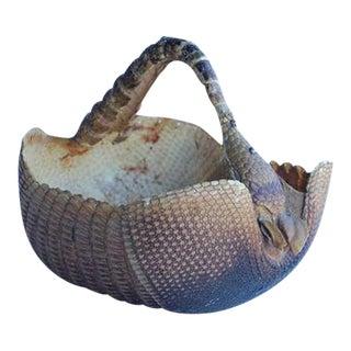Original Armadillo Basket, 1940s For Sale