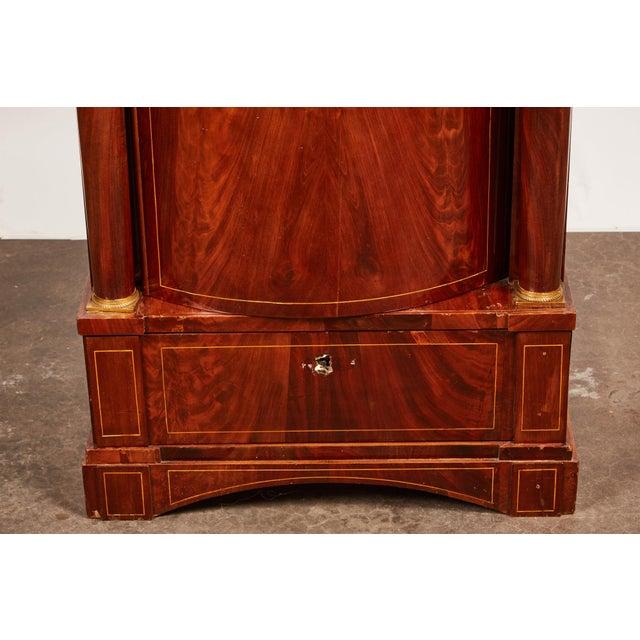 19th Century Danish Mahogany Empire Cabinet For Sale - Image 4 of 11