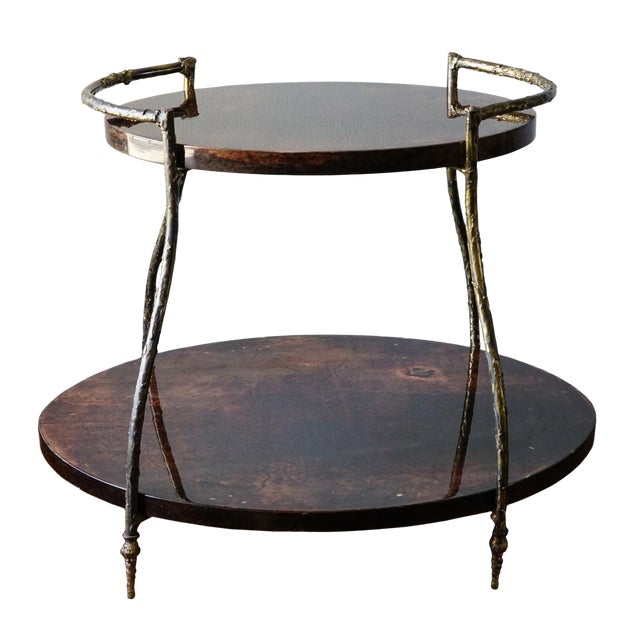 Aldo Tura Cocktail Table For Sale