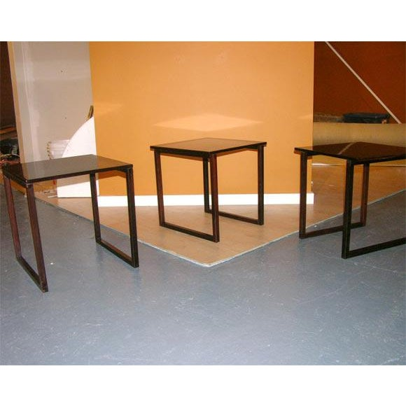 Danish Rosewood Cube of Nesting Tables - Set of 3 For Sale - Image 4 of 7