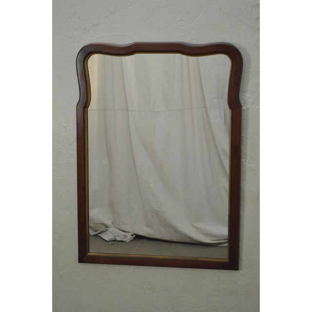 Statton Old Towne Cherry Traditional Wall Mirror For Sale - Image 10 of 10