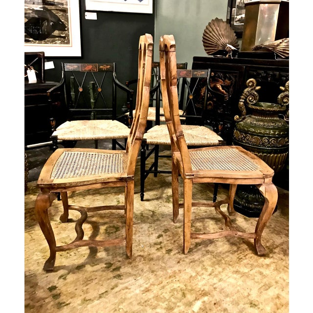 Baroque 18th Century Swedish Baroque Side Chairs - a Pair For Sale - Image 3 of 7