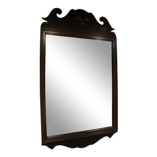 Federal Style Lacquered Mirror For Sale