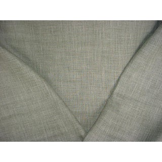 Ralph Lauren Laundered Linen Pasture Upholstery Fabric - 2 1/2 Yards For Sale