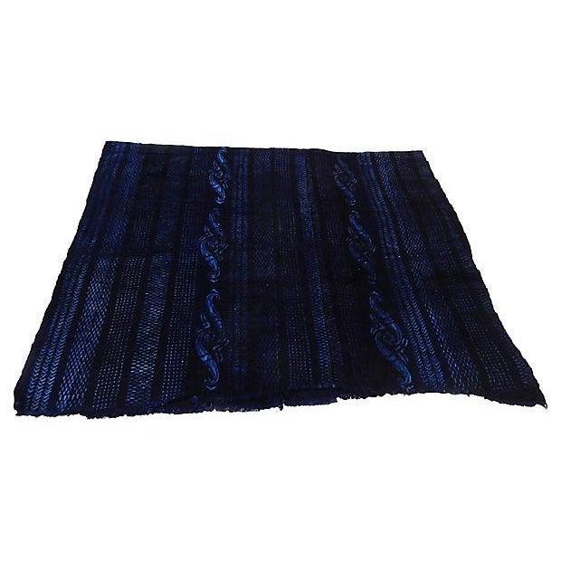 Indigo Mali Textiles - A Pair - Image 6 of 8