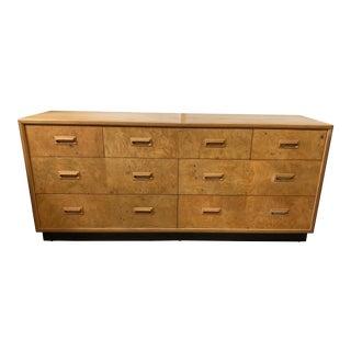 Henredon Scene Two Olive Burl Dresser For Sale