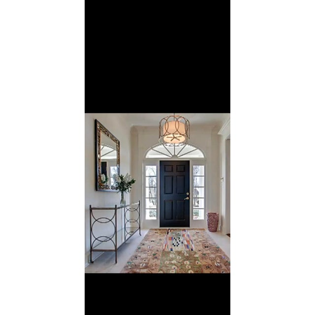 2000 - 2009 Drexel Heritage Glass Console For Sale - Image 5 of 8