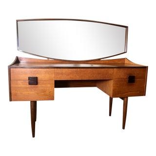 Mid Century Danish Modern Teak Vanity by Kofod Larsen for G Plan For Sale