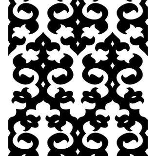 Hollywood Regency Trousdale Wallpaper Sample For Sale