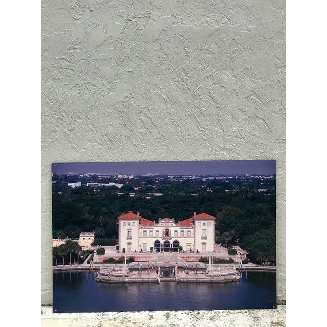 Monumental Photographic Print of Villa Vizcaya, Deaccessioned From Vizcaya For Sale - Image 4 of 13