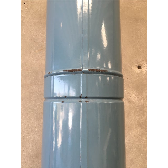Mid-Century Rare Baby Blue Preway Fireplace For Sale In Los Angeles - Image 6 of 7