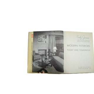 Vintage Interior Design Book Modern Interiors Today and Tomorrow by Emily Genauer Preview