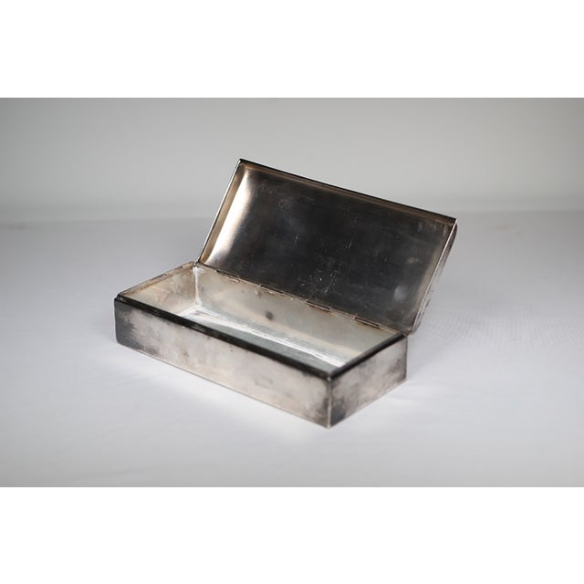 Mid-Century Silver Plated Box - Image 5 of 5