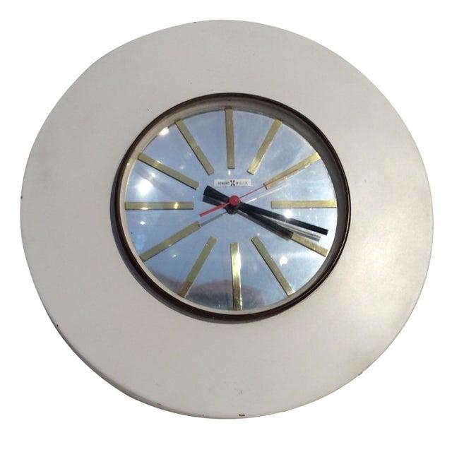 Howard Miller Mid-Century Modern Wall Clock - Image 1 of 5