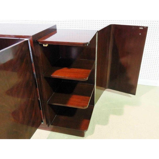 Early 21st Century Ralph Lauren Duke Mahogany Low Media Cabinet For Sale - Image 5 of 9