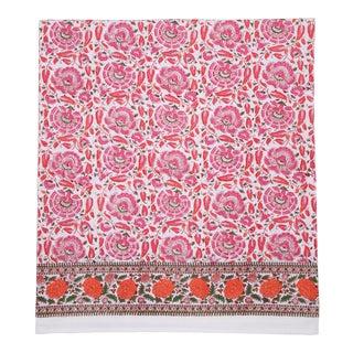 Riyad Fitted Sheet, Twin - Pink & Orange