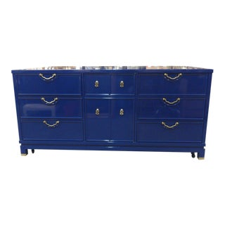 Lacquered Grotto Blue R-Way Dresser
