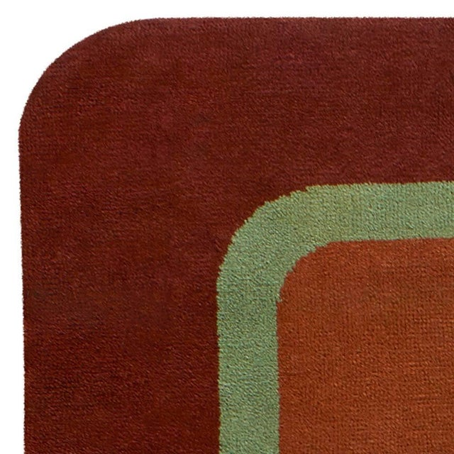 Early 20th Century Vintage Deco Rug For Sale - Image 5 of 9