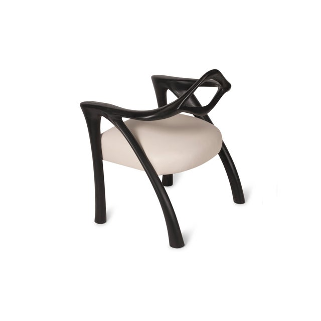 Amorph Darcey Dining Chair in Ebony Stain For Sale - Image 9 of 10