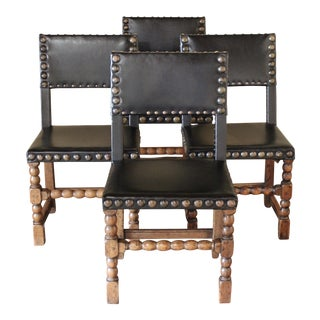 17th Century Dining Chairs - Set of 4 For Sale