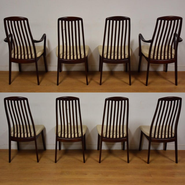 Danish Modern Dining Chairs - Set of 8 - Image 4 of 9