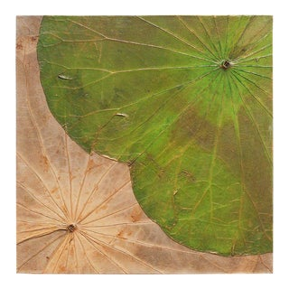 Abstract Lotus Leaf Wall Hanging For Sale