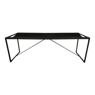 Maurizio Peregalli Modernist Bench for Zues, Italy 1980s For Sale