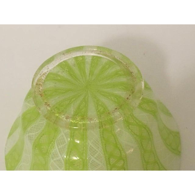 Latticino Italian Glass Bowl - Image 7 of 8