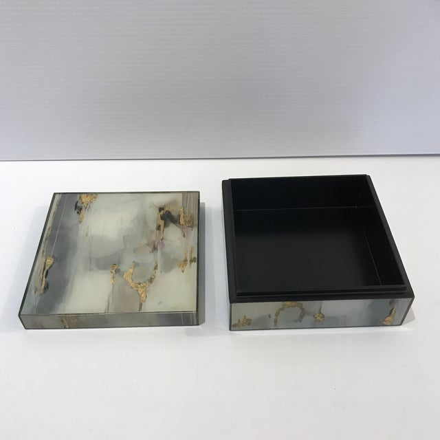 Abstract Abstract Acrylic Paint Box For Sale - Image 3 of 6
