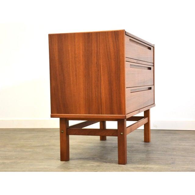 1960s Nils Jonsson Teak Vanity Dresser For Sale - Image 5 of 11