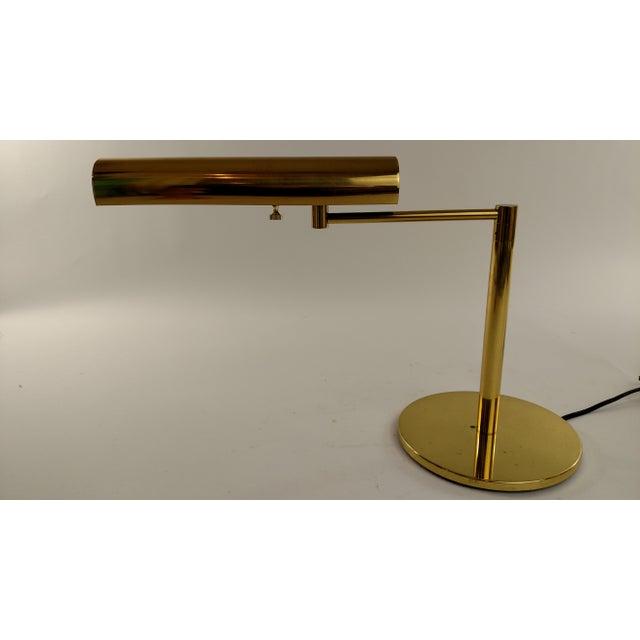 Vintage Restored Brass Desk Lamp - Image 3 of 7