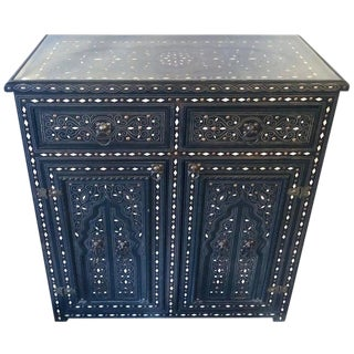 1920s Vintage Moroccan Cabinet For Sale