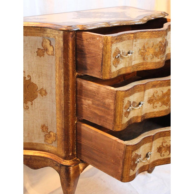Vintage Italian Gilt Wood Dresser - Image 4 of 11