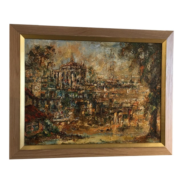 Original Oil Painting by M. Toyt - Image 1 of 4
