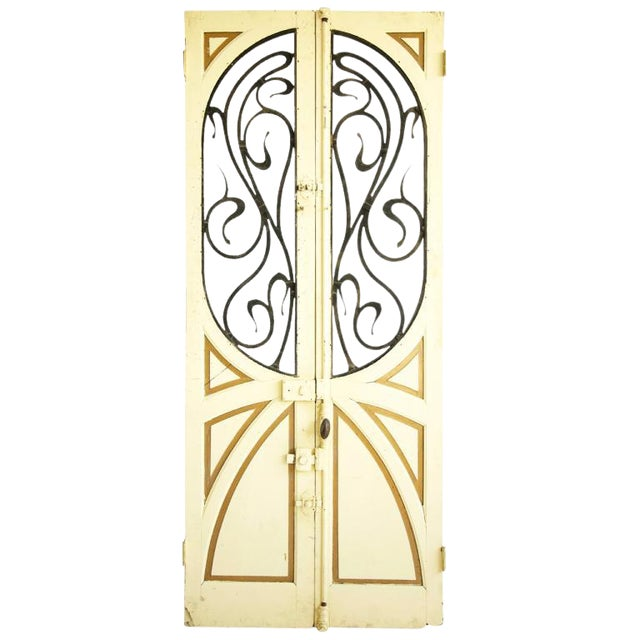 Pair of Architectural Doors For Sale