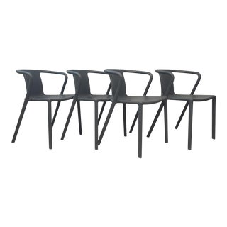 Magis Grey Air-Armchairs- Set of 4 For Sale