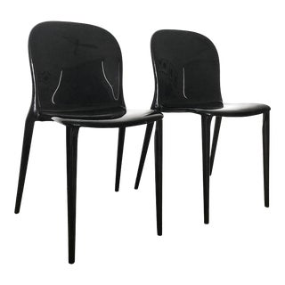 Kartell Thalya Acrylic Chairs - a Pair For Sale
