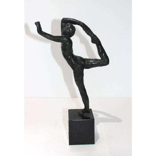 Vintage Auguste Rodin Style Bronze Sculpture of a Dancer For Sale In West Palm - Image 6 of 12