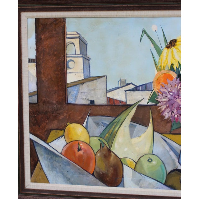Mid 20th Century Oil on Canvas Artwork by French Artist Charles Levier For Sale - Image 5 of 11