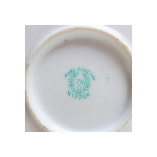 Antique Hand-Painted Nippon Platter For Sale In New York - Image 6 of 6