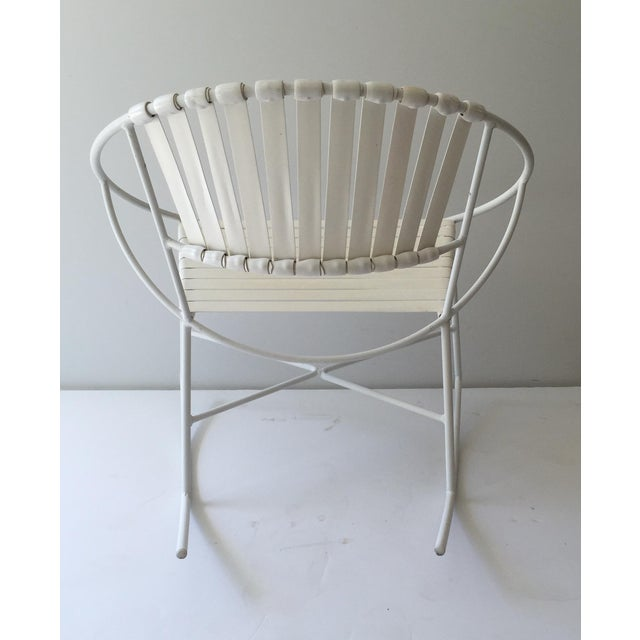 Mid-Century Outdoor Rocking Chair - Image 5 of 8