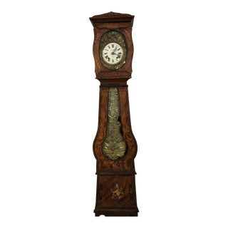 1850-1870 French Morbier Grandfather Clock