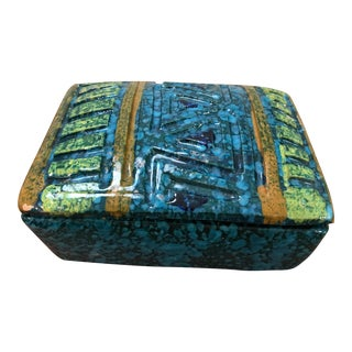 Vintage Bitossi Italian Ceramic Box