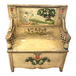 Mid 19th Century Children's Bo Peep Bench For Sale