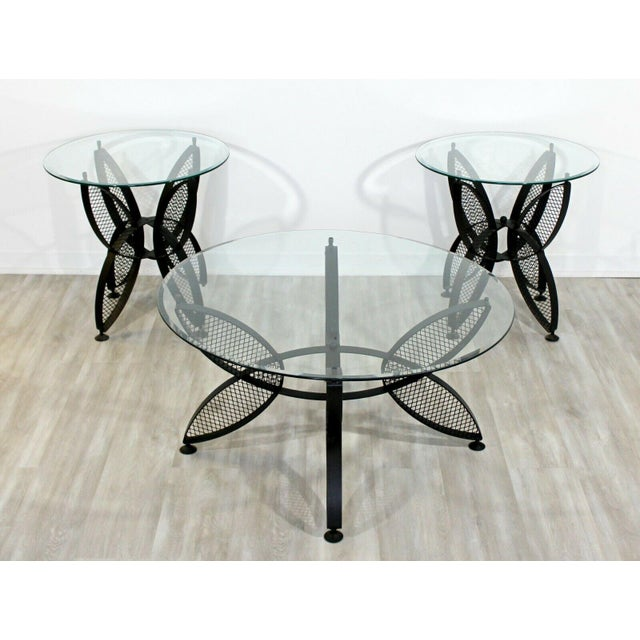 Mid Century Modern Tempestini Salterini Butterfly Patio Pair Side Tables 1960s For Sale - Image 11 of 12
